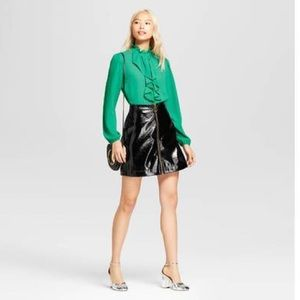 Who What Wear Frilled Blouse
